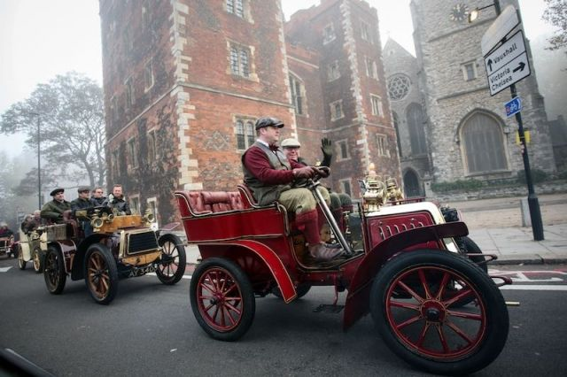 2015 London to Brighton Veteran Car Run