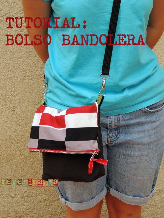 da323c9e4 Tutorial: Bolso Bandolera - Teresina S.A. Manualidades   curso de ...