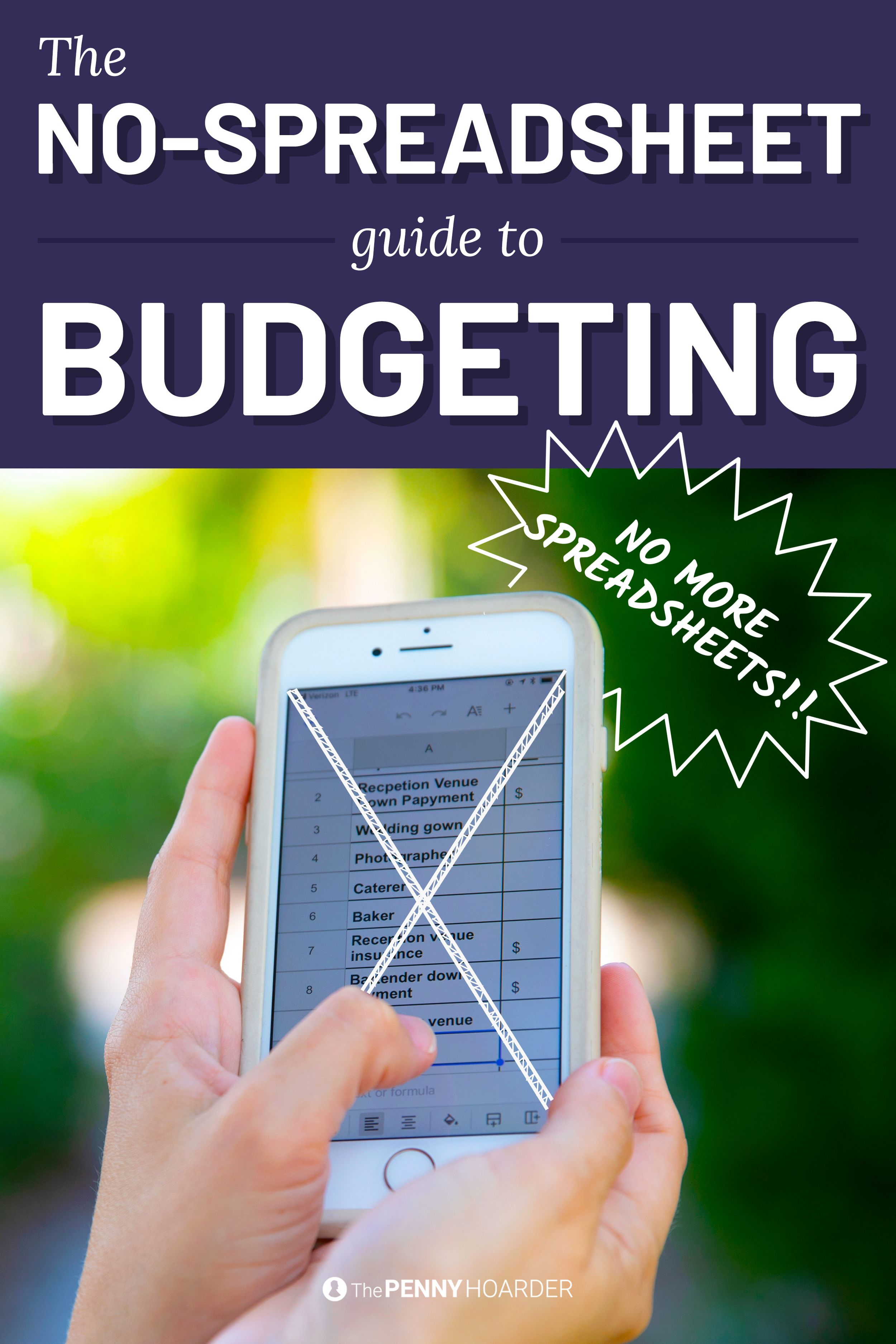 How To Budget If Spreadsheets Make You Want To Gouge Your
