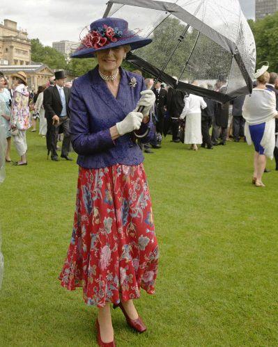 Princess Alexandra, June 3, 2014 in Rachel Trevor Morgan   Royal Hats