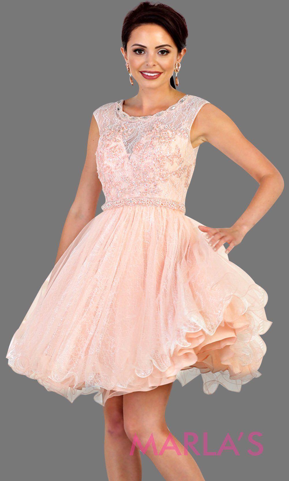 168da7b76b8e7 Perfect for grade 8 grad, graduation, light pink confirmation, quinceanera  damas, sweet 16, sweet 15, 18th birthday, semi formal, ballerina dress.