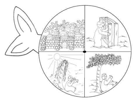 Jonah story pinwheel | dibujos biblicos | Pinterest | Religiones ...