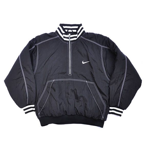 57bcc5b3078b Vintage Nike Pullover Windbreaker Cagoule Jacket   80s   90s Fashion  Outfits    Retro Streetwear