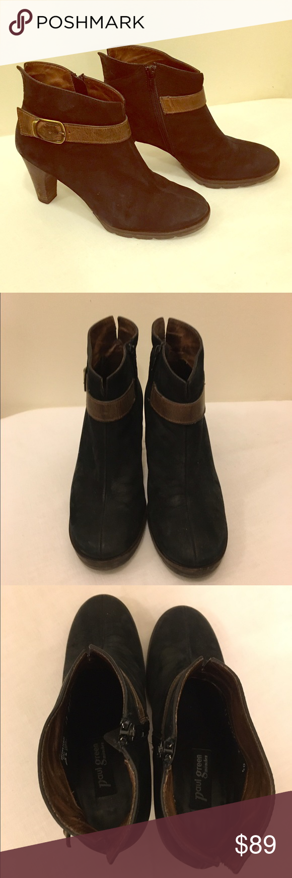 28616516e High quality leather, sturdy heel and great sole. A very high end Nordstrom  shoe! Size 4 women's Paul Green Shoes Ankle Boots & Booties