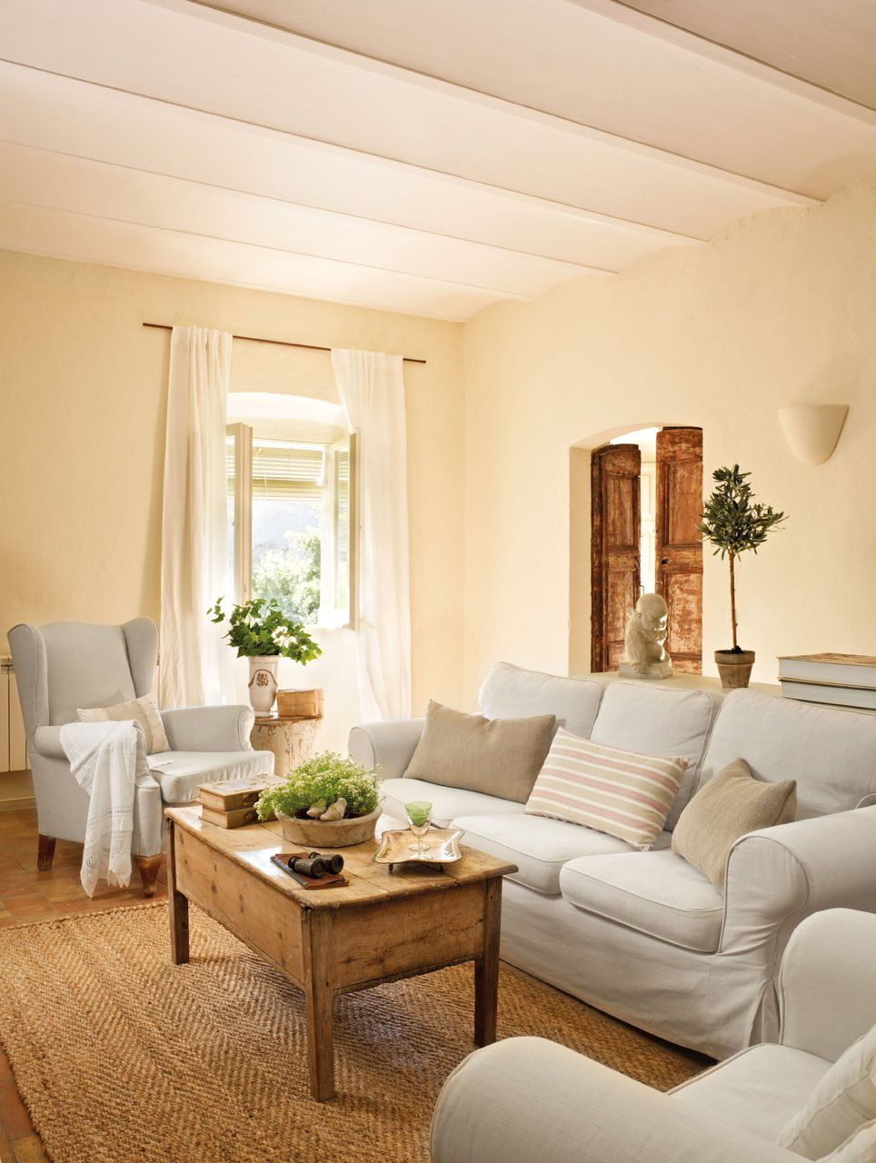 Una casa de pueblo llena de buenas ideas casa de pueblo for Come ottenere le planimetrie di una casa
