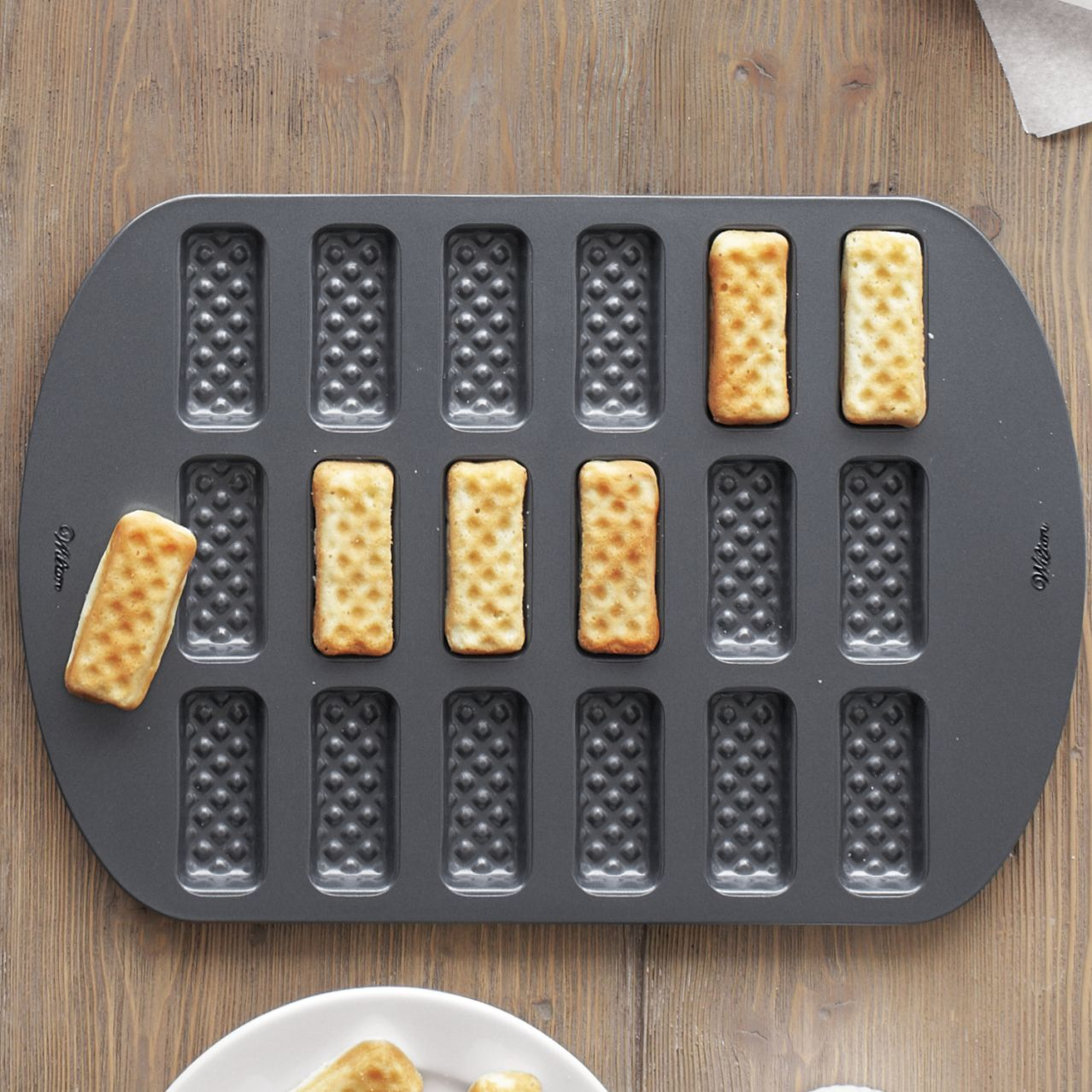 Waffle Dipper Sticks Pan It S Ok To Play With Your Food