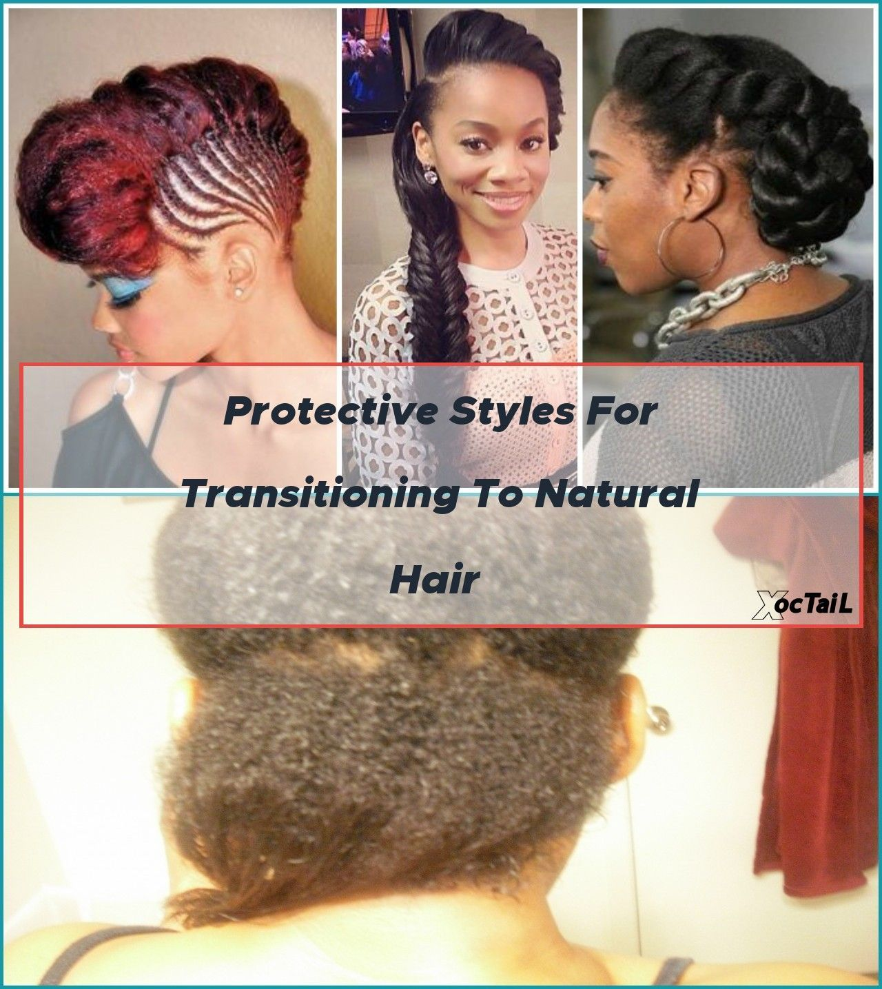 Healthy Happy Hair Transitioning To Natural Hair Need Help Protective Styles For Transitioning T In 2020 Natural Hair Transitioning Natural Hair Styles Happy Hair