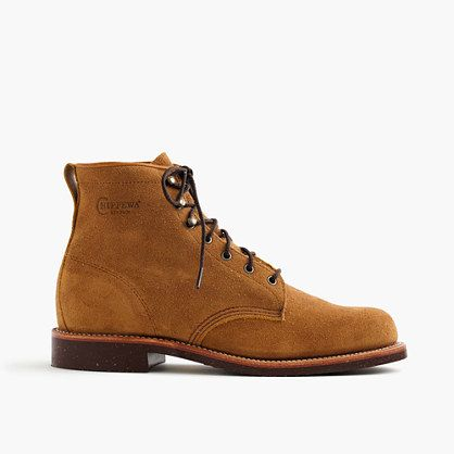 e2ce1b9929d Original Chippewa® for J.Crew rough-out leather boots | Men's Boots ...