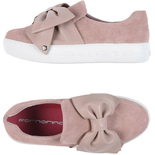 separation shoes 0c8a3 13529 Fornarina Sneakers ($132) ❤ liked on Polyvore featuring ...