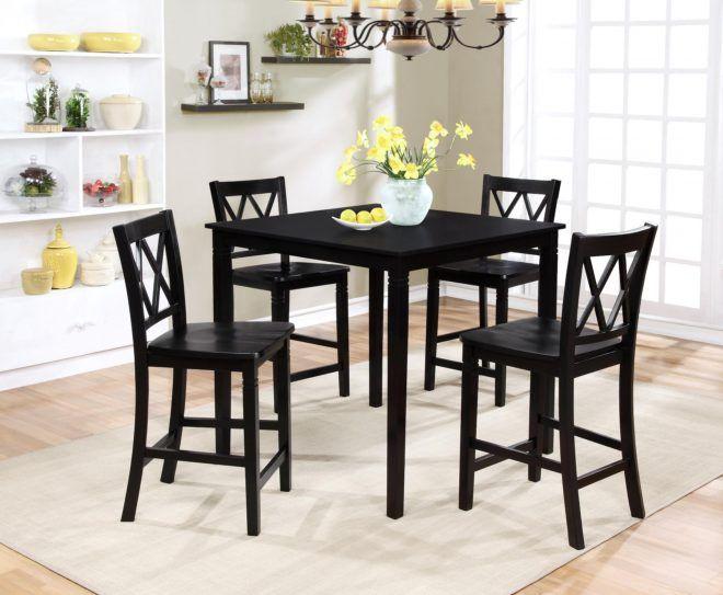18 dining room table sets kmart kmart dining room  black