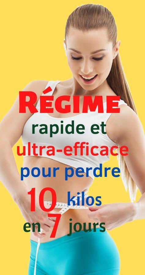 Régime rapide et ultra-efficace pour perdre 10 kg en 7 ...