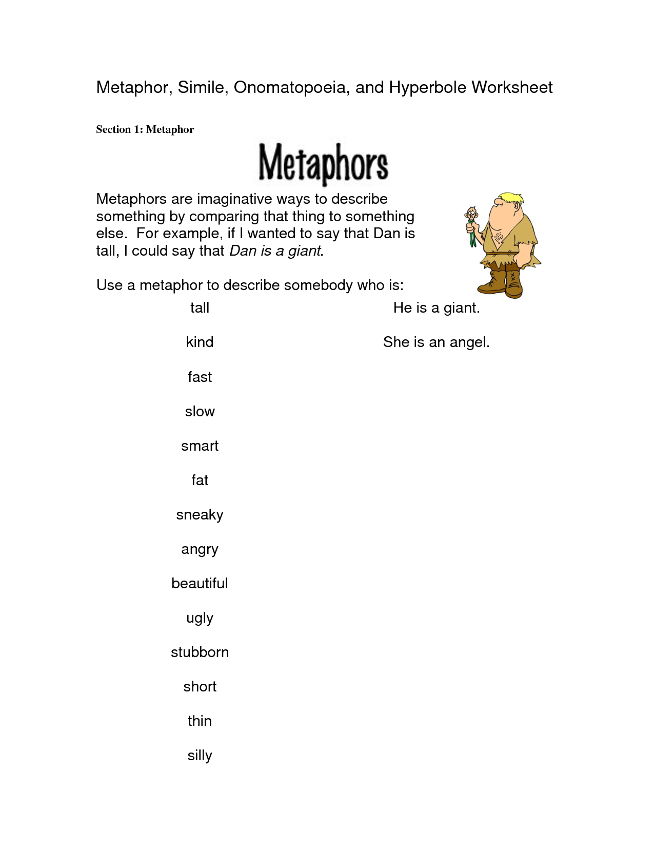 worksheet Metaphors Worksheets onamonapia worksheets free poems httplorajost org org