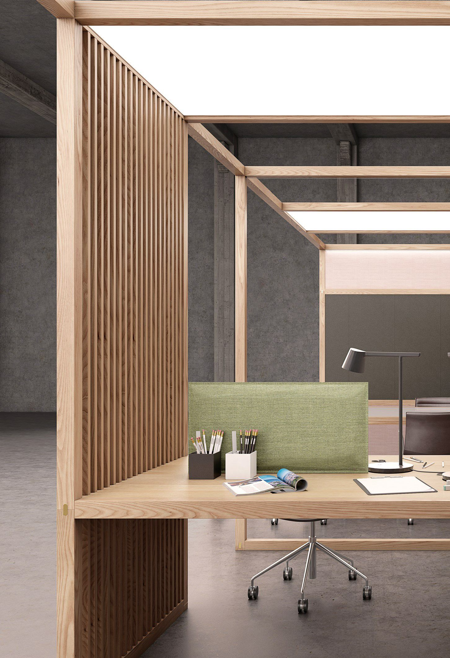 6x6 office multiple office workstation for open space