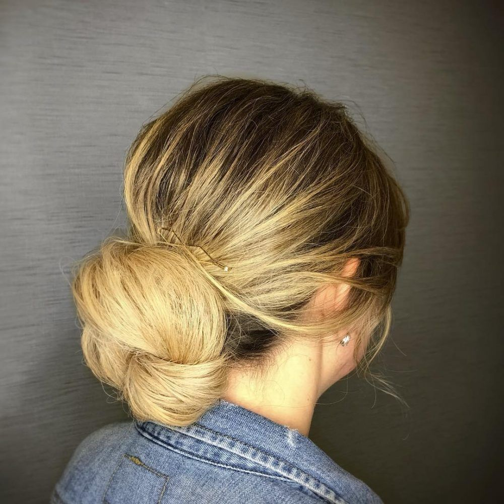 21 Super Easy Updos for Beginners to Try in 2020   Hair ...