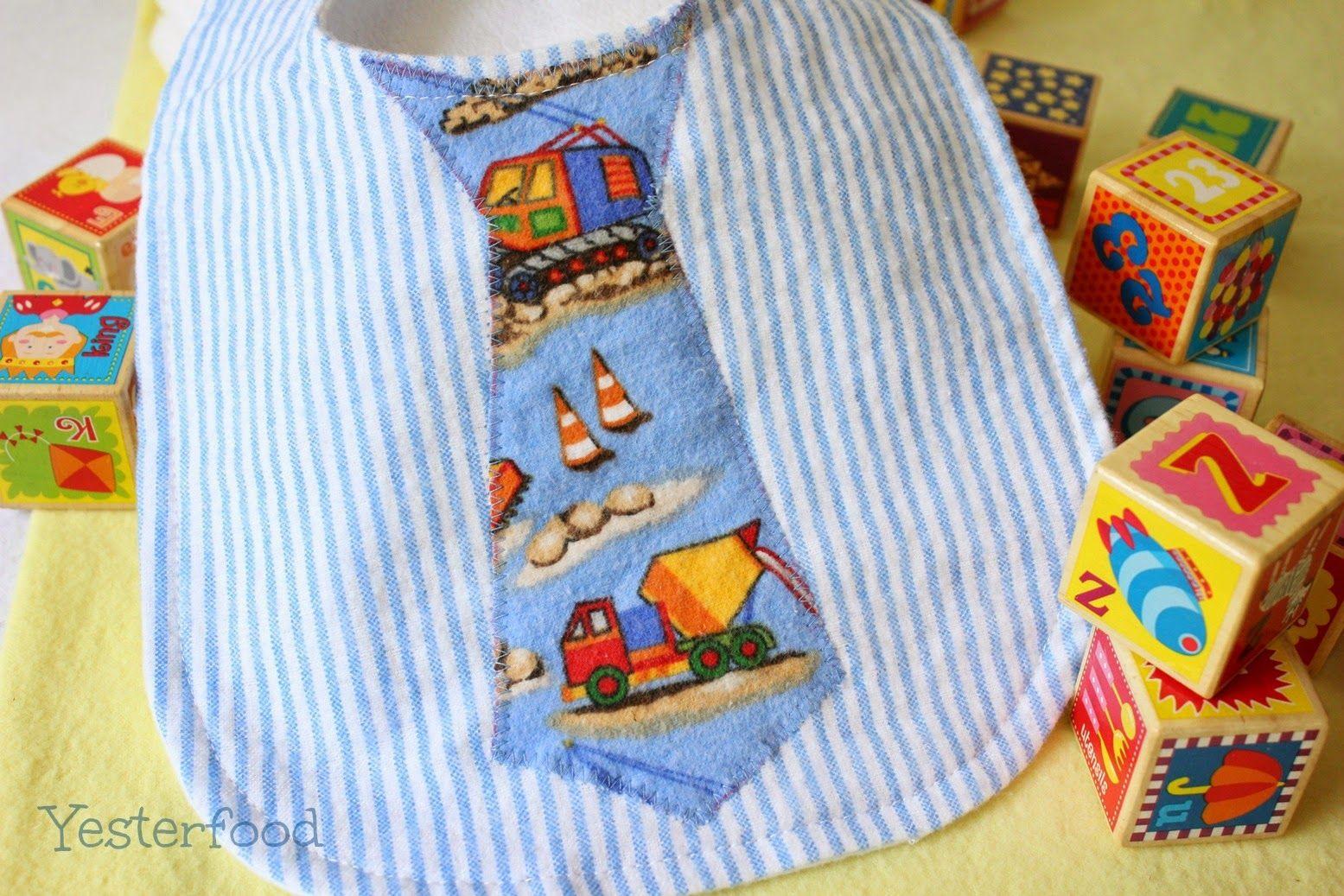 Free Baby Bib Patterns, Tutorials and Ideas... | Lätzchen, Nähideen ...