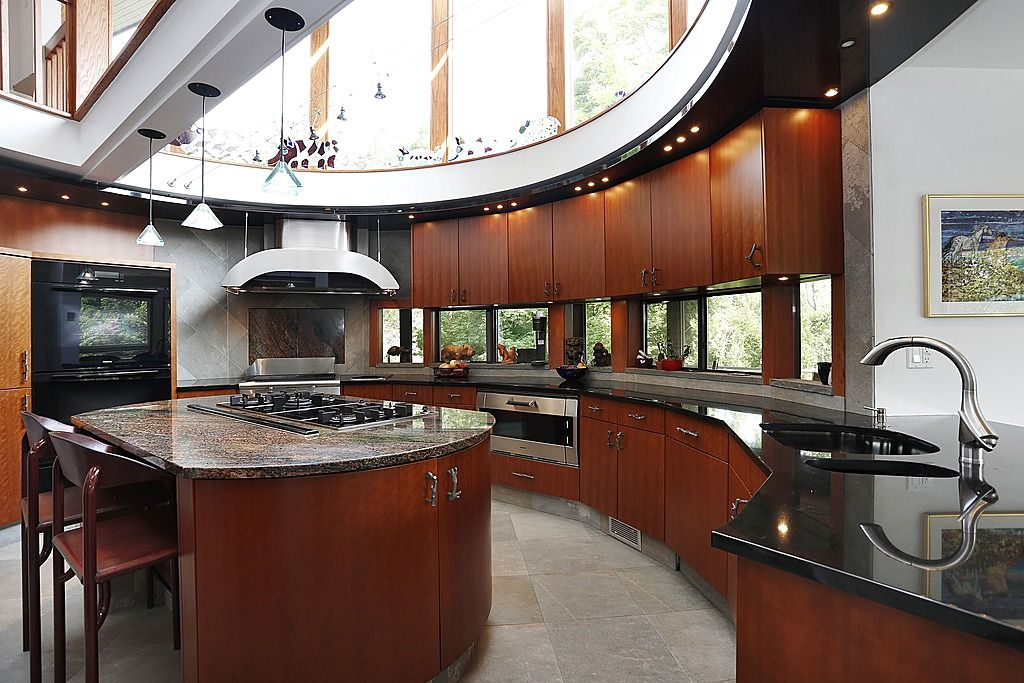 52 dark kitchens with dark wood or black kitchen cabinets rh pinterest com