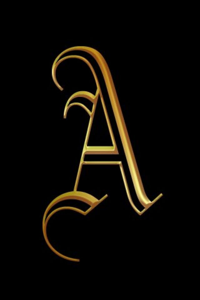 My Creation Letter A Creative Designs Wallpaper For Iphone Download Free Alphabet Wallpaper Logo Design Art Alphabet Letters Design