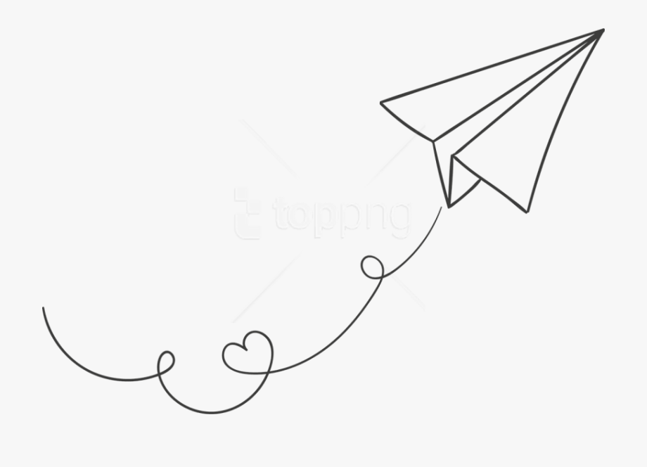 Pin By Adnan Kurt On Airplane In 2020 Paper Airplane Drawing Airplane Drawing Paper Plane Tattoo