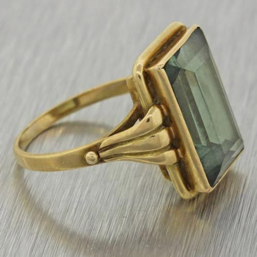 Photo of Custom Jewelry – 1930s Antique Art Deco Estate 14k Solid Yellow Gold …