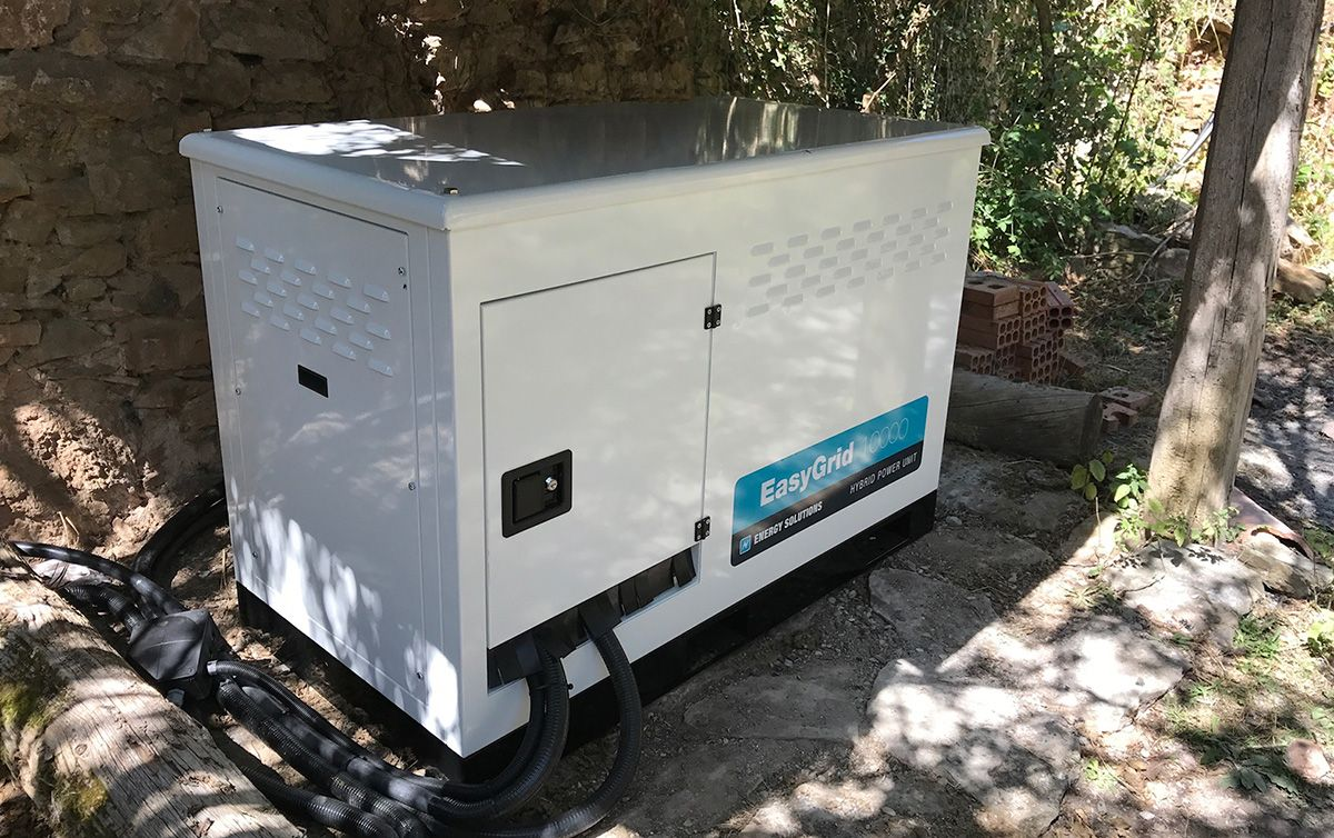 Off Grid Power system for Catalonian Masia near Barcelona