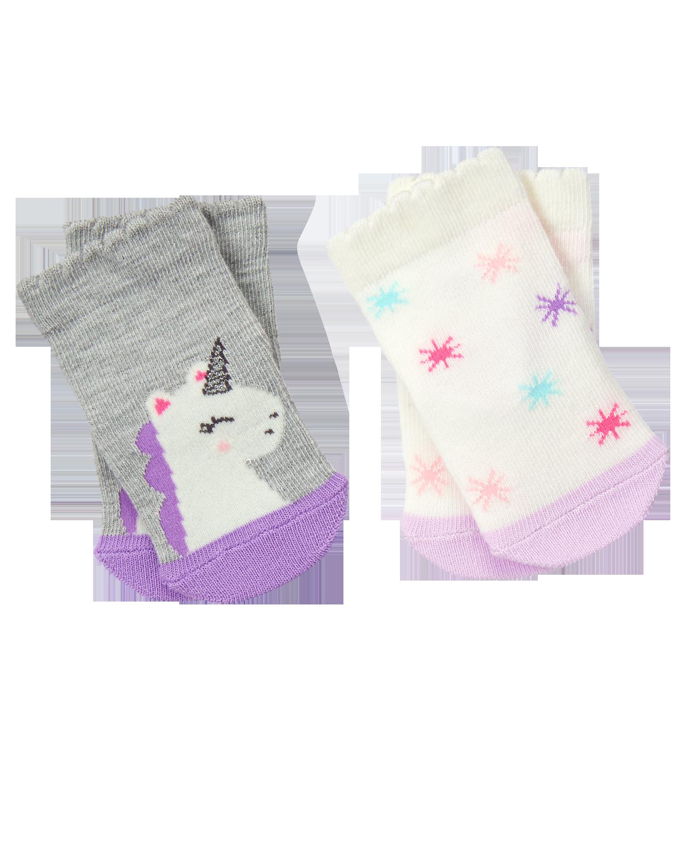 Unicorn & stars socks