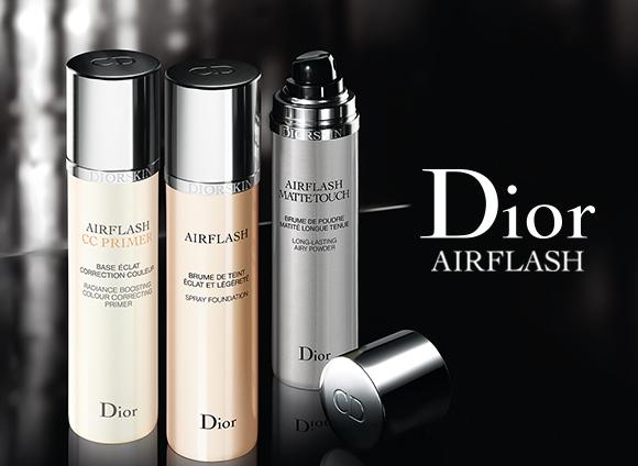 Dior Airflash CC Primer and Airflash Matte Touch Dior