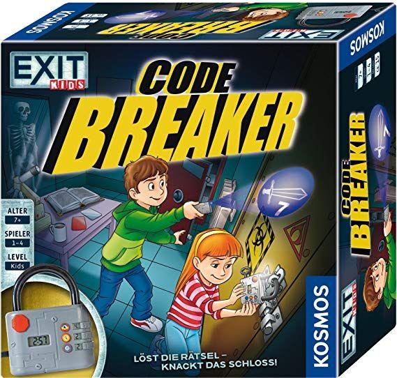Exit Kids Code Breaker Das Escape Raum Spiel Für Kinder Ab 6
