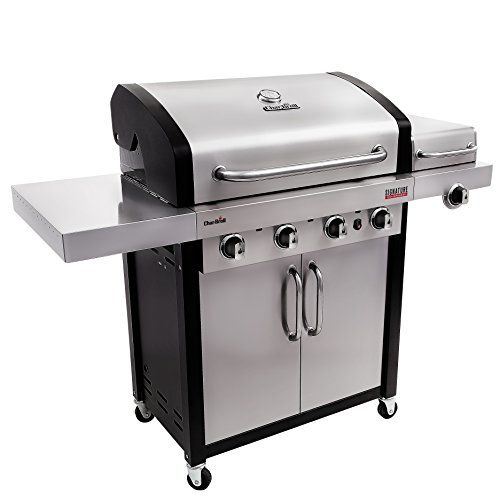 Outdoor Grills Charbroil Signature Tru Infrared 4burner Cabinet Gas Grill Read More