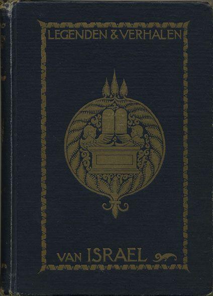 Legenden & verhalen van Israel, Legends & tales from Israel - book cover, 1925