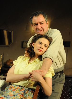 Hayley Atwell And Ken Stott In A View From The Bridge London 2009 Also Starring Mary Elizabeth Mastrantonio