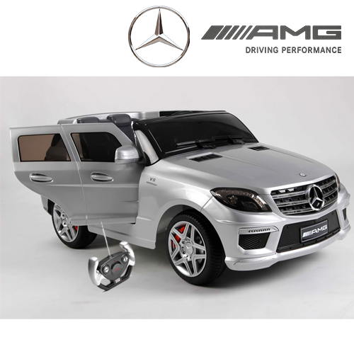 Official Mercedes Ml63 Black Edition 12v Jeep Kids Power Wheels Jeep Power Wheels
