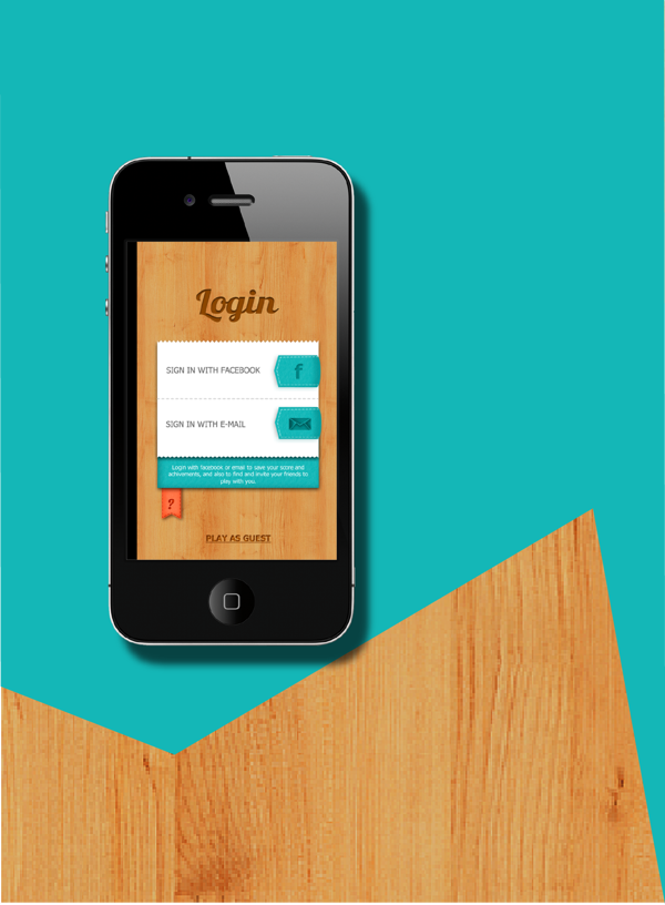 Brain Tease APP by DIANA BOTELHO, via Behance (With images