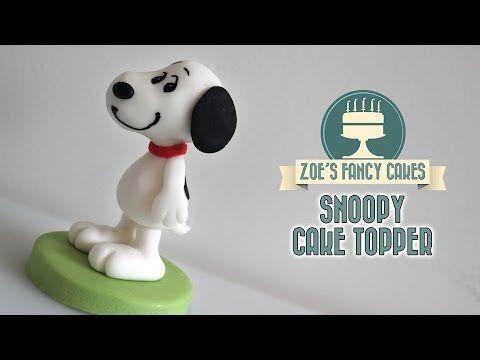 Snoopy cake model The Peanuts movie - YouTube