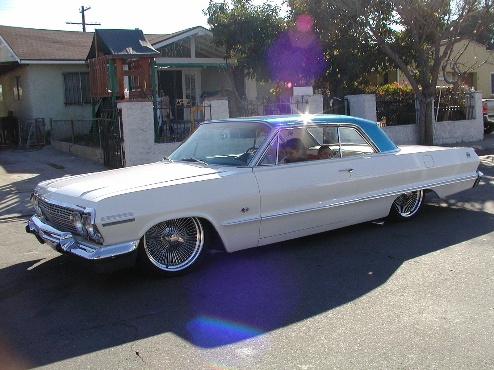 1963 impala lowrider on air bags (With images) Classic