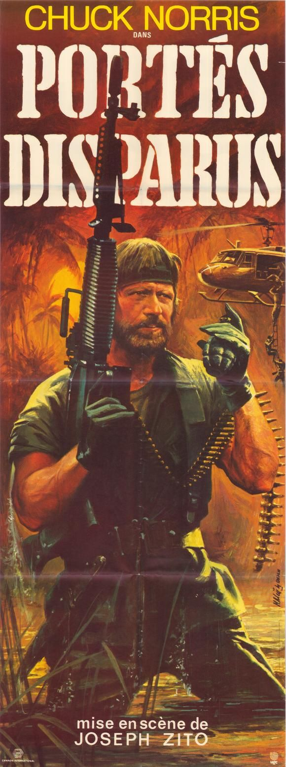 Missing in Action: French Movie Poster | Missing in Action ...