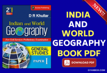 India And World Geography Book Pdf By Dr Khullar In English And