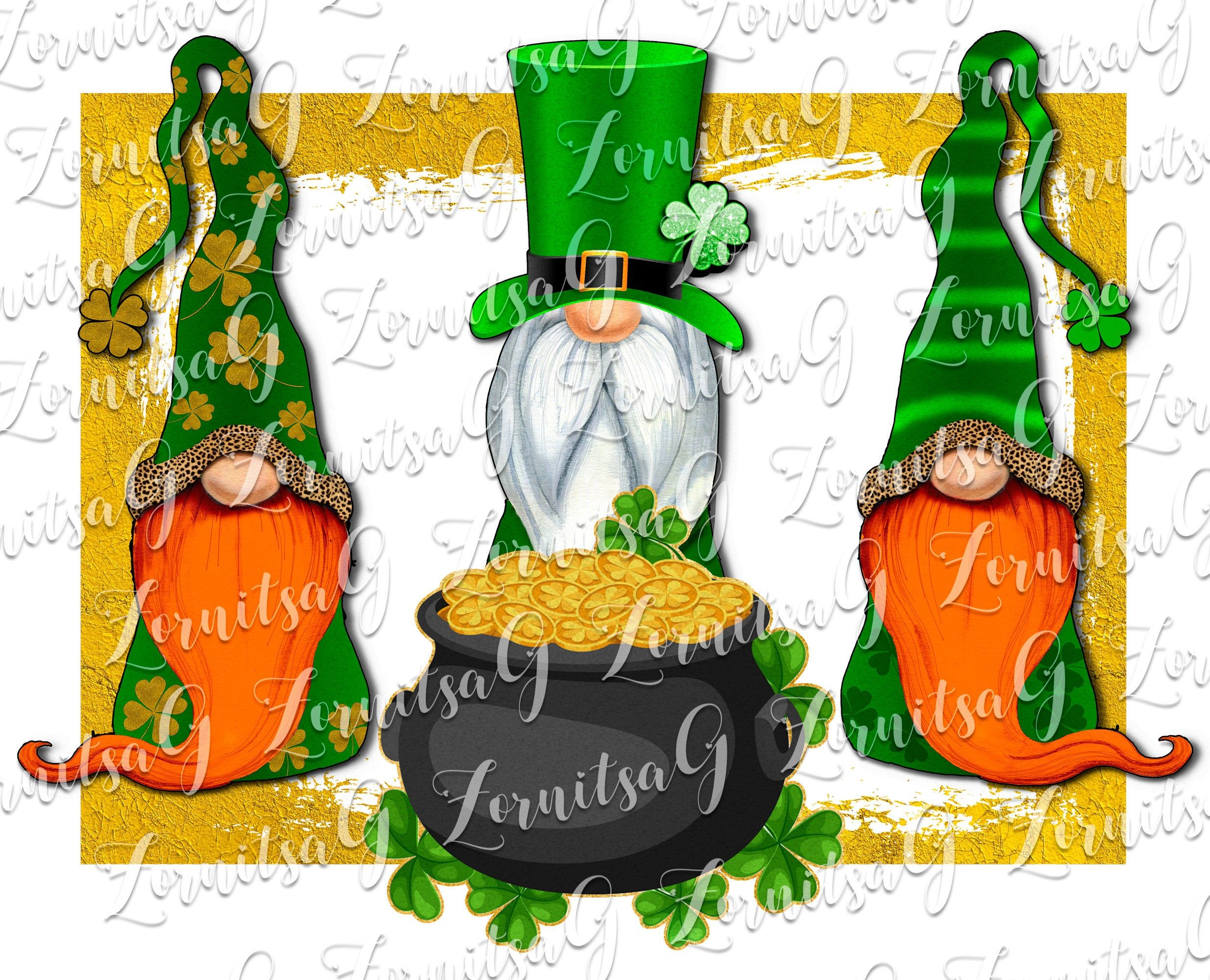 Download St.Patrick's Day Gnomes , Sublimation, Printable Design ...