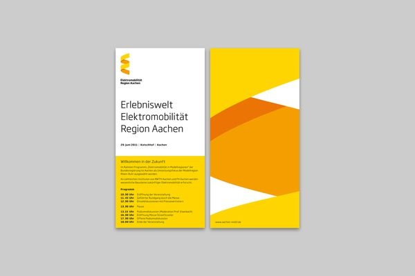 Elektromobilität Region Aachen on the Behance Network