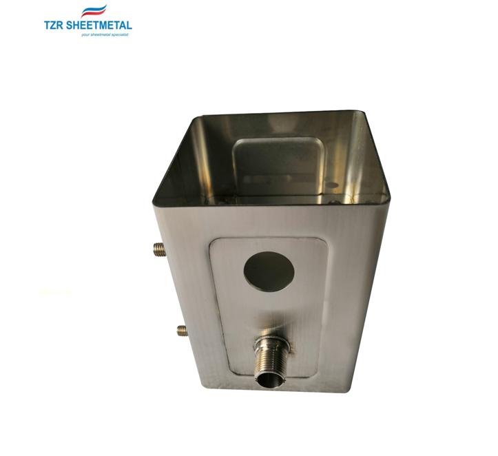 Custom Brushed Aluminum Bucket Sheet Metal Fabrication Stainless Steel Sheet Metal Metal Fabrication