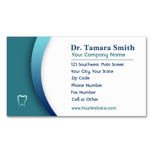 Medical Business Card Template Design Card templates, Business - business card template for doctors