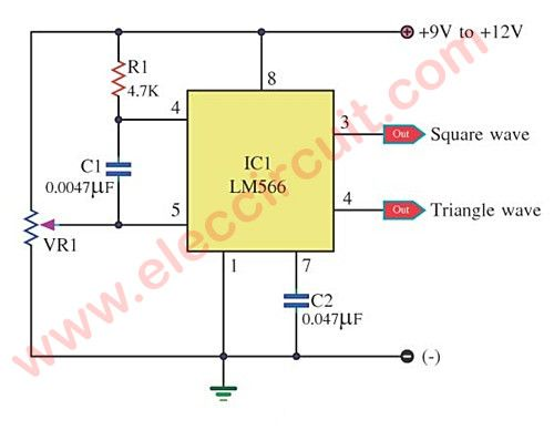Marvelous Simple Ic 4011 Led Flasher Circuit Eleccircuit Com Motion Sensor Wiring 101 Cabaharperaodorg