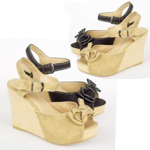 dcd820364 LADIES WEDGE SANDALS WOMEN GIRLS PLATFORM SUMMER DRESS EVENING HEELS BEACH  SHOES