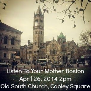 Massachusetts Wills, Trusts, and Estates - DGVE law, LLC is a proud sponsor of this year's Listen to Your Mother Boston event at Old South Church, Copley Square #LTYM 2014