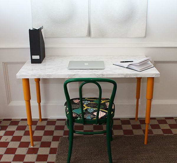 Create Your Own Marble Table Top And Add Prettypegs Table Legs! See How  Itu0027s Done