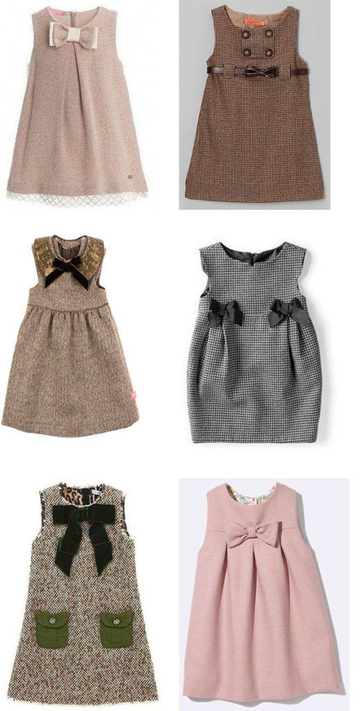vestidos para niña colores cafe | NIÑAS | Pinterest | Baby Dress ...