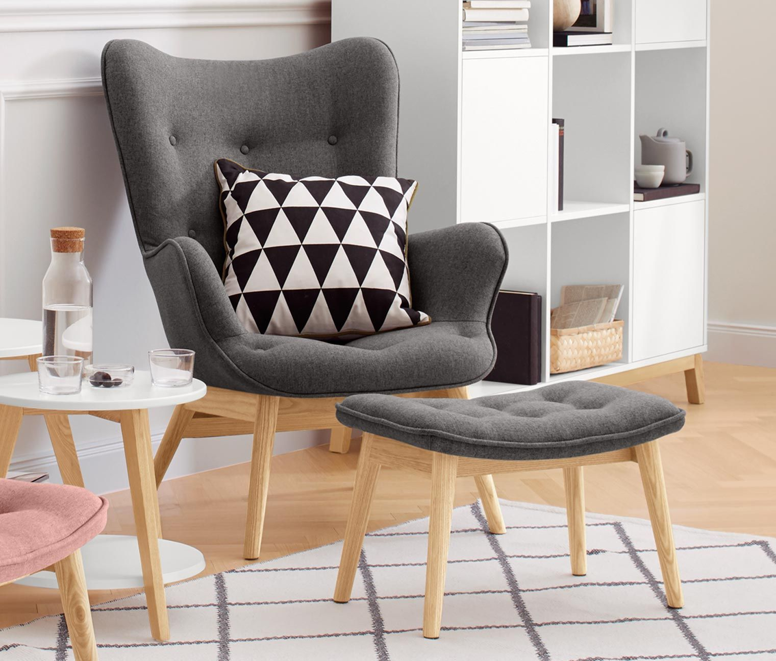 Ekenäset Sessel Grau Sessel Garbo I Webstoff Furniture Stuff T Living Room