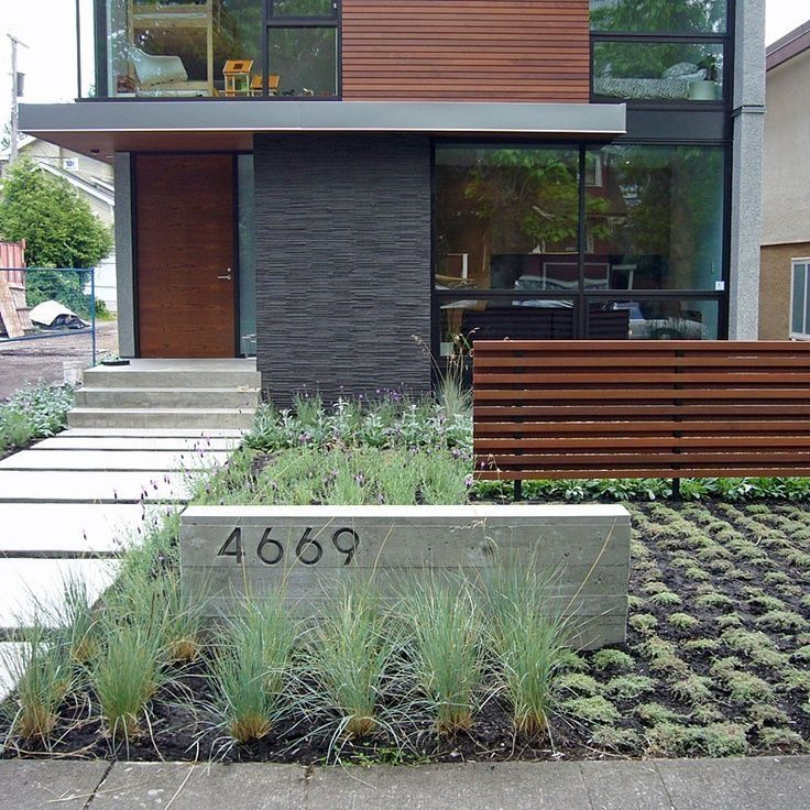 45 Latest Front Yard Makeover Design Ideas #modernfrontyard