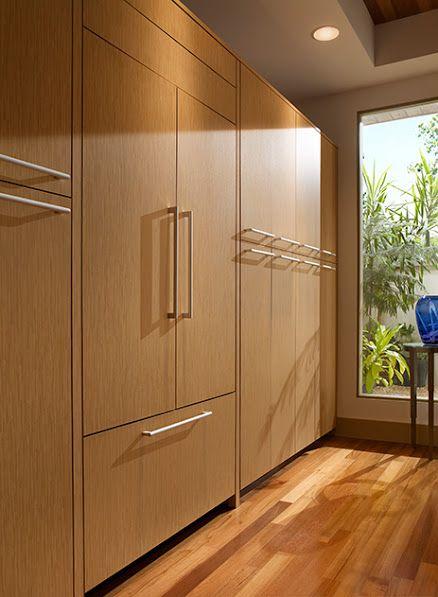 Flush Mount Panel Ready French Door Refrigerator Nkba