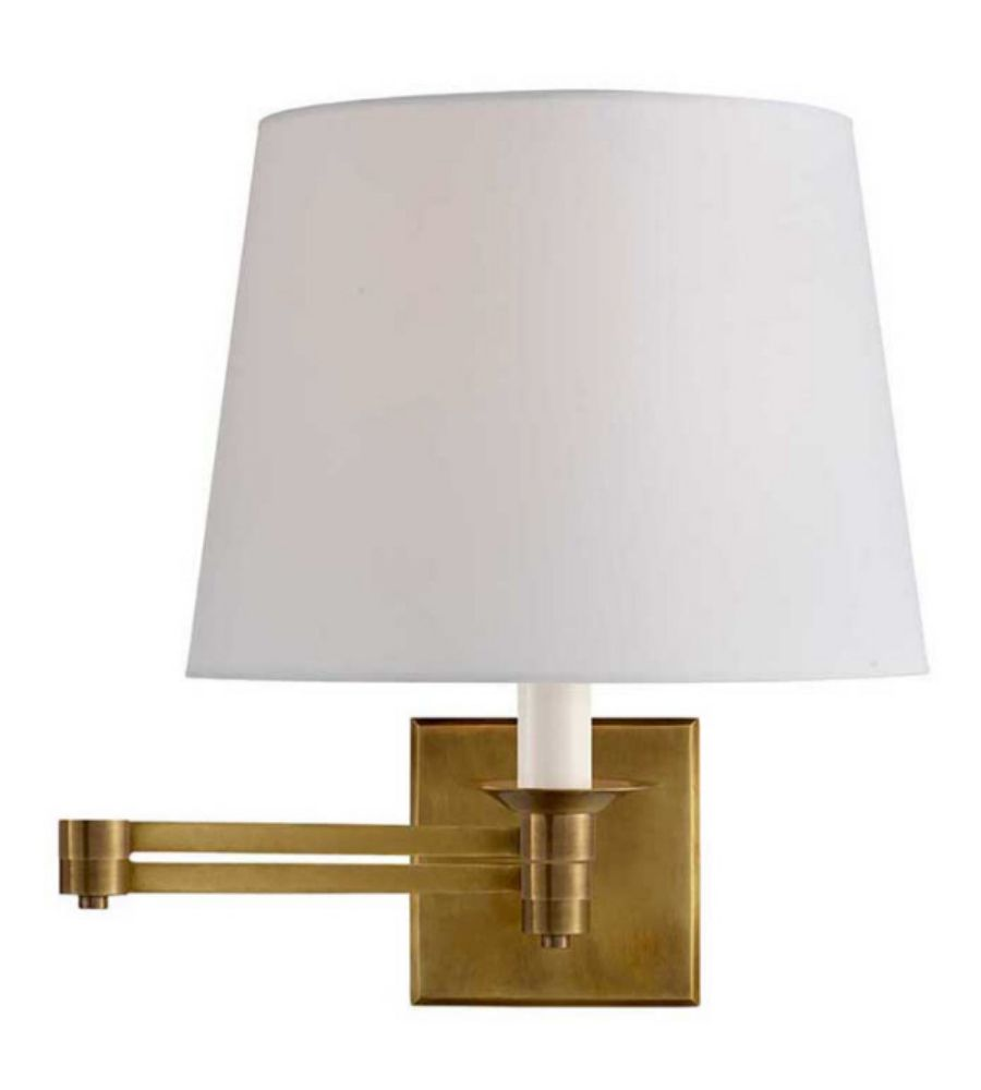 Visual Comfort Rl2010nb P Ralph Lauren Evans Swing Arm Sconce In