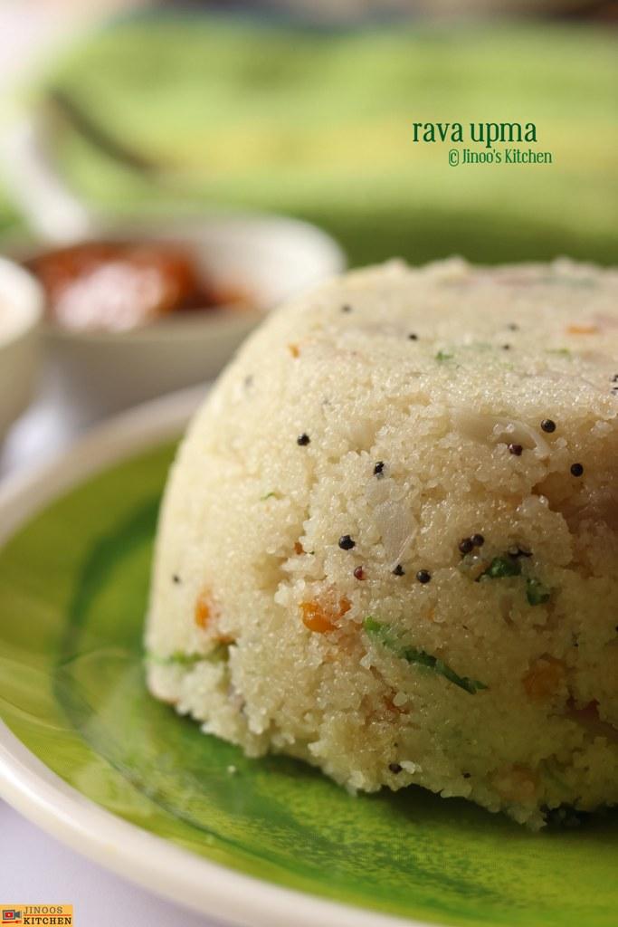 rava upma recipe upma recipe with rava sooji upma breakfast recipes jinoos kitchen recipe on hebbar s kitchen dinner recipes id=86352